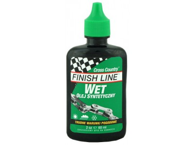 СМАЗКА ДЛЯ ЦЕПИ FINISH LINE CROSS COUNTRY WET LUBE 60 ml